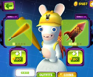 Rabbids Big Bang Screenshots