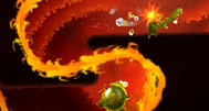Rayman Fiesta Run announcement screenshots