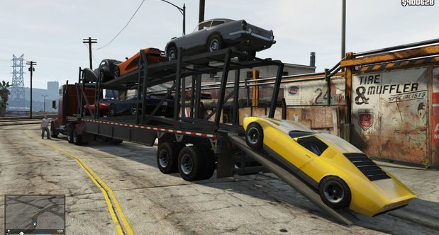 Grand Theft Auto V review screenshots