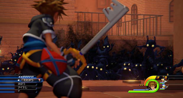 Kingdom Hearts III TGS 2013 screenshots