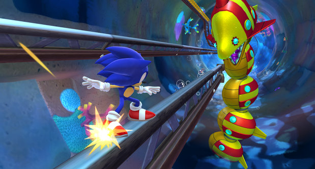 Sonic Lost World screenshots