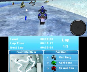 Snow Moto Racing 3D Screenshots