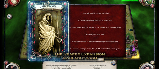 Talisman Digital Edition screenshots