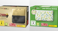 Zelda and Luigi themed 3DS XLs announced for Europe