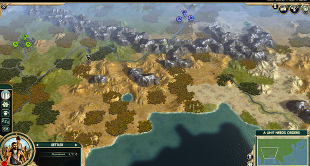 Sid Meier's Civilization V map packs screenshots