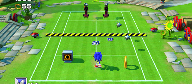 Sega Superstars Tennis News