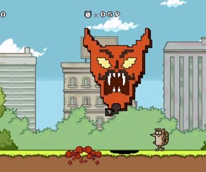Regular Show: Mordecai and Rigby in 8-bit Land Screenshots