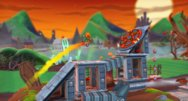Joe Danger 2: The Movie 'Undead Pack' screenshots