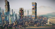 SimCity Cities of Tomorrow announcement screenshots