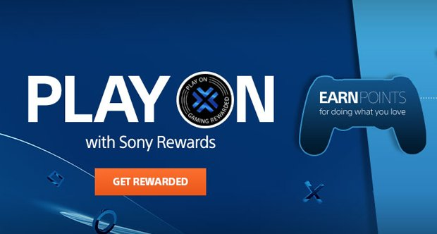 Sony Rewards Program