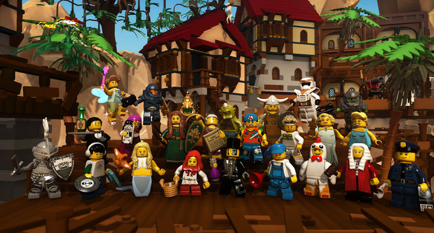 LEGO Minifigures Online screenshots