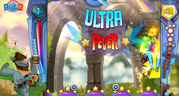 Peggle 2 launch screenshots