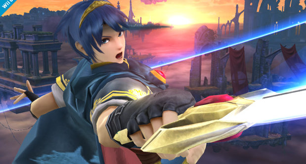 Super Smash Bros Wii U Marth screenshots