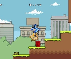 Regular Show: Mordecai and Rigby in 8-bit Land Chat