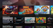 Ouya's revised UI to make games easier to find