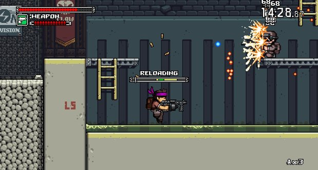 Mercenary Kings November 2013 screenshots
