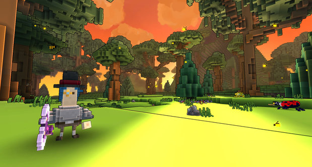 Trove announcement screenshots