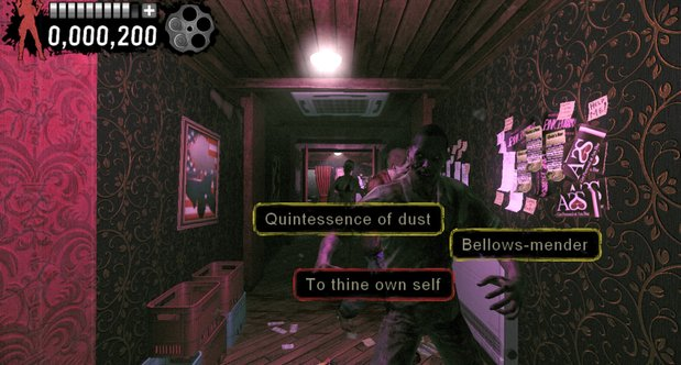 The Typing of the Dead: Overkill - Shakespeare DLC screenshots