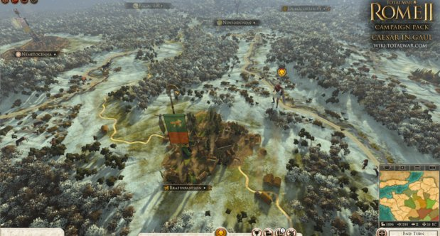 Total War: Rome II - Caesar in Gaul DLC announcment screenshots