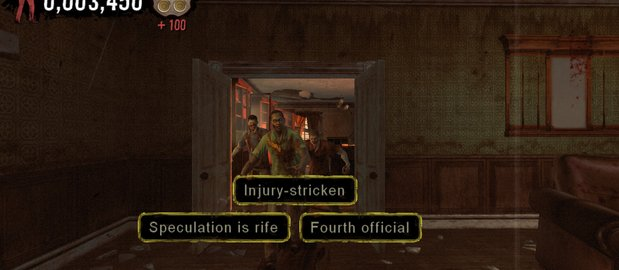 The Typing of the Dead: Overkill News