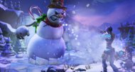 Borderlands 2 rolling a snowman head on December 17