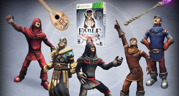 Fable Anniversary day one DLC outfits and weapons
