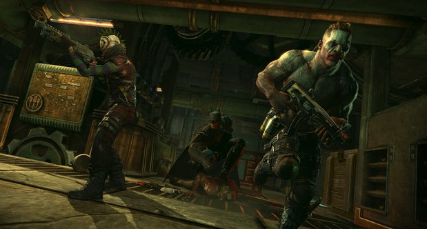 Batman: Arkham Origins Hunter, Hunted mode screenshots