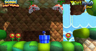 Sonic Lost World Yoshi's Island Zone DLC screenshots