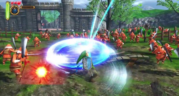 Hyrule Warriors trailer snap