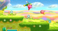 Kirby Triple Deluxe trailer takes to the skies