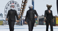 Grand Theft Auto Online celebrates Christmas with snow and selfies