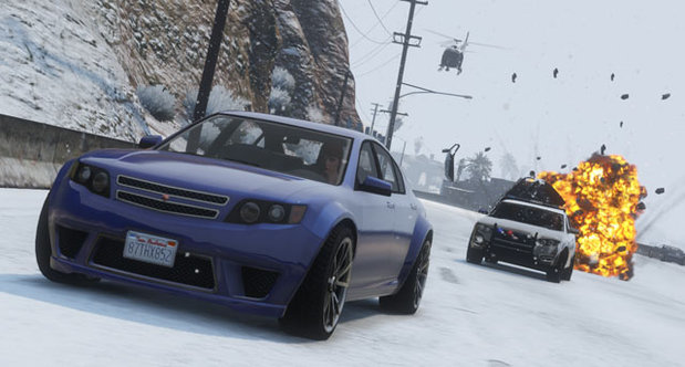 Grand Theft Auto Online Christmas screenshots