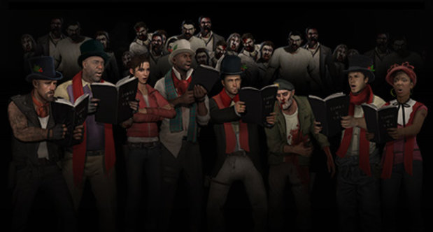 Left 4 Dead 2 Christmas header