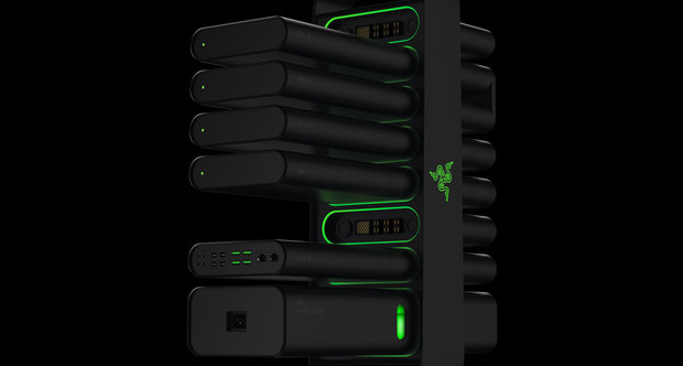 Razer Project Christine screenshots