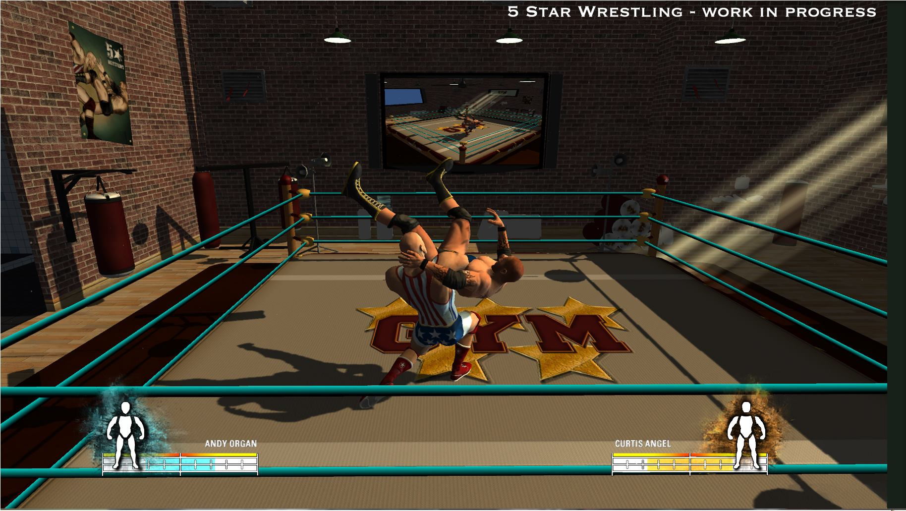 5 star wrestling screenshots video game news videos and file