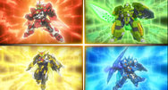 Tenkai Knights: Brave Battles assembling this summer on 3DS