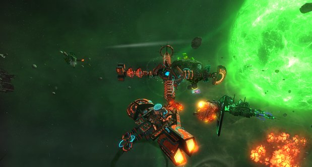 Space Pirates and Zombies 2 announcement screenshots