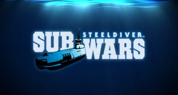 Steel Diver Sub Wars announcement logo
