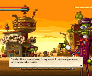 SteamWorld Dig Chat