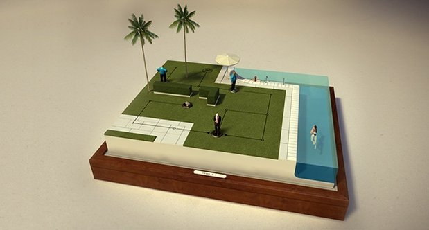 Hitman GO announcement screenshots