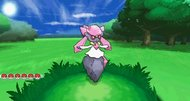 Pokemon X and Y Diancie screens