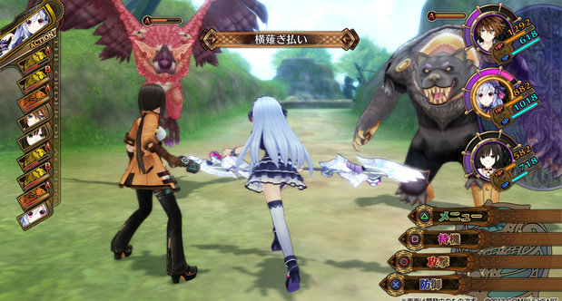 Fairy Fencer F Japanese screenshots
