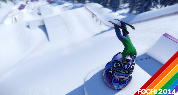 Snow Fochi 2014 slopestyle screenshots