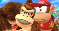 Smash Bros 'Diddy Kong' Wii U screenshots