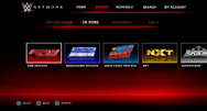 WWE Network PlayStation app screenshots