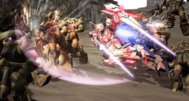 Dynasty Warriors: Gundam Reborn announcement screenshots