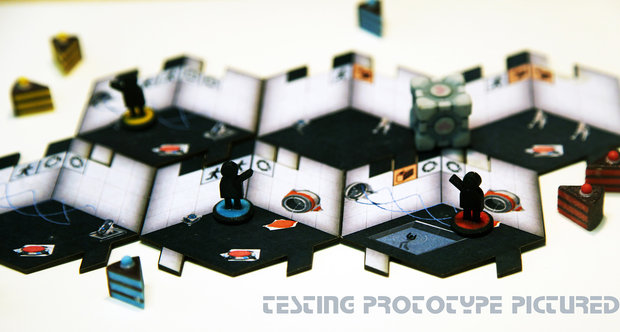 Portal board game prototype