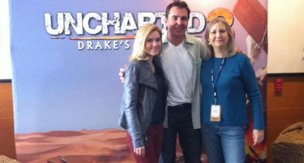 Nolan North, Emily Rose, Amy Hennig