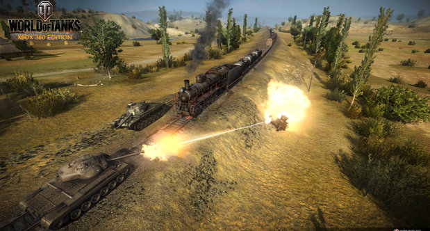 World of Tanks Xbox 360 Map Madness screenshots
