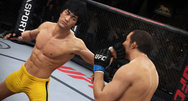 Bruce Lee is playable in EA Sports UFC